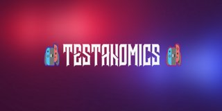 Profile banner for testanomics