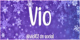 Profile banner for vio