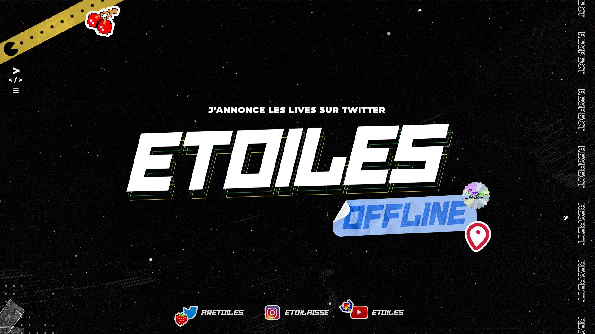 Twitch stream of Etoiles