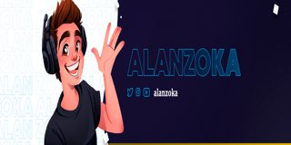 Profile banner for alanzoka
