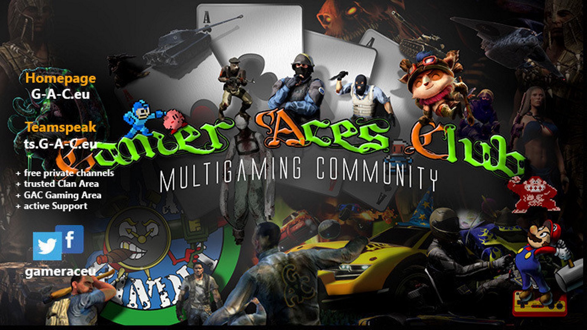 Twitch stream of GamerAcesClub
