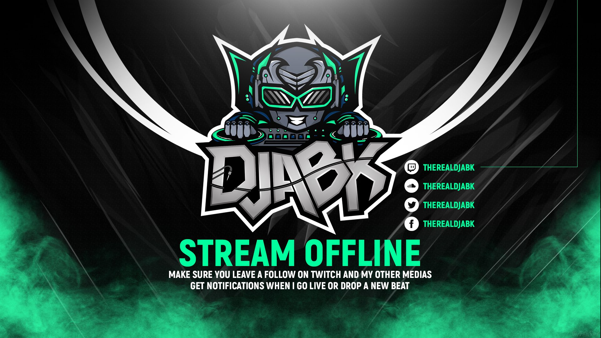 Twitch stream of TheRealDJABK
