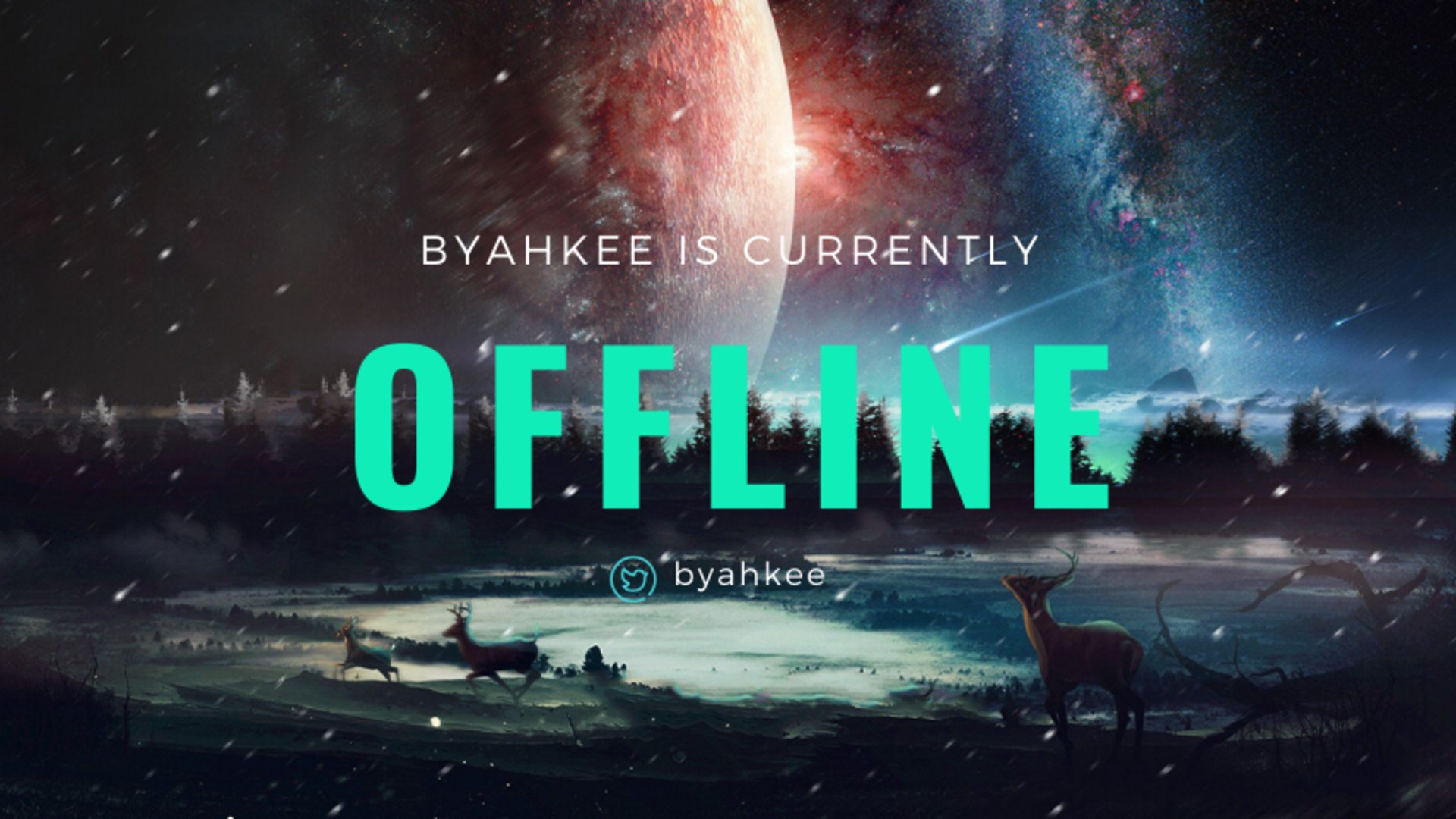 Twitch stream of TheByahkee