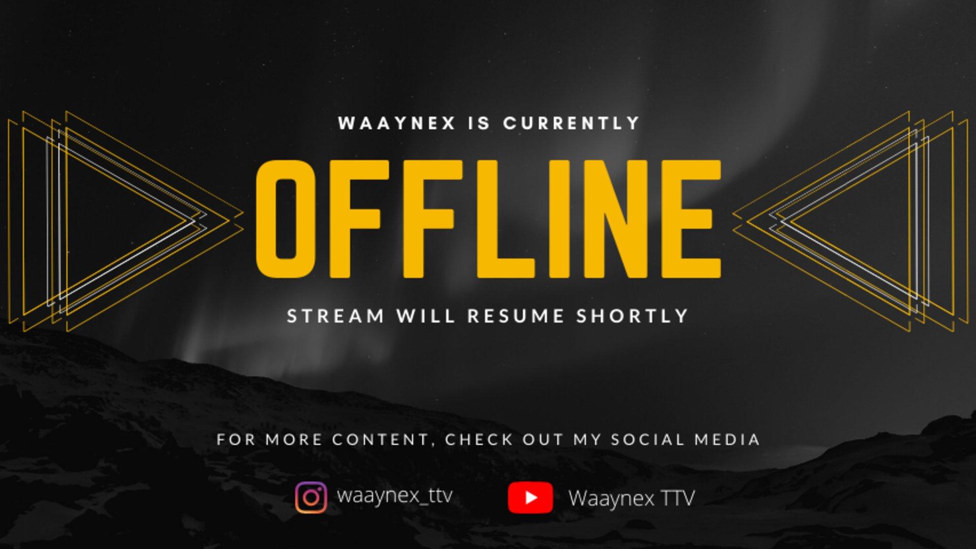 Twitch stream of Waaynex