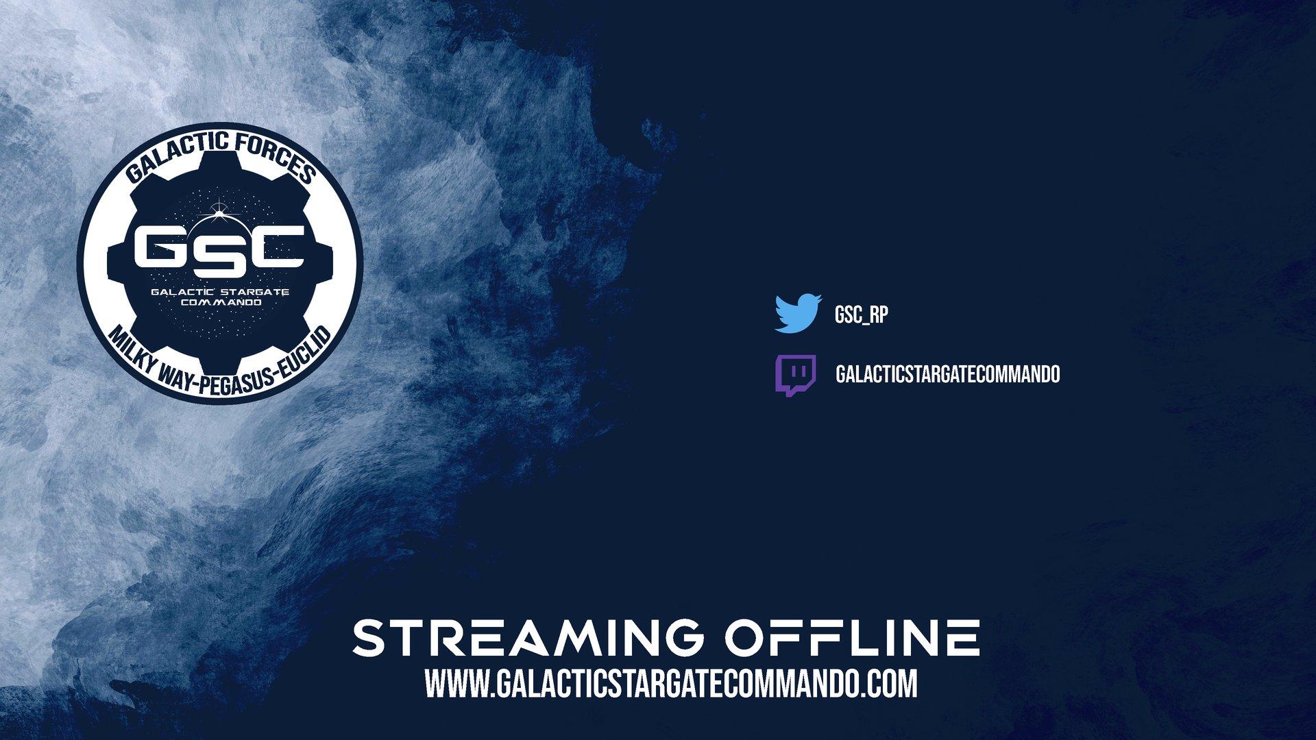 Twitch stream of GalacticStargateCommando