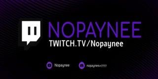 Profile banner for nopaynee