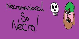 Profile banner for necromaniacalsonecro
