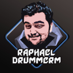 RaphaelDrummerM Logo