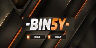 Profile banner for bin5y