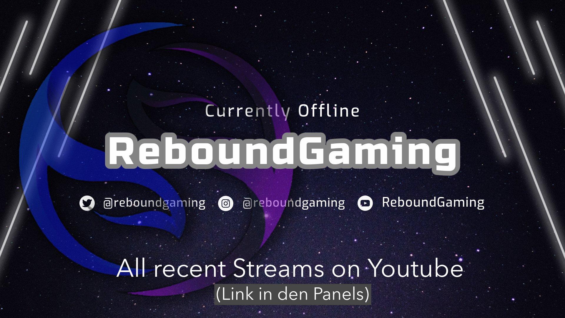 Twitch stream of ReboundLive