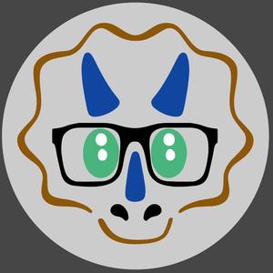LouTheNerdasaur Logo