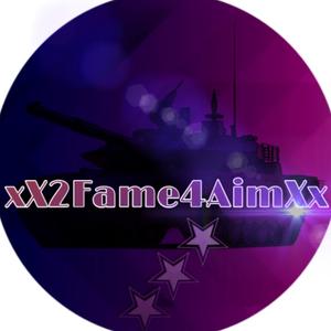xX2Fame4AimXx Logo