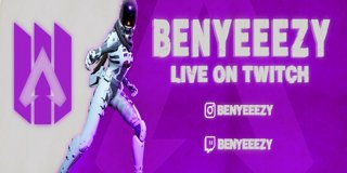 Profile banner for benyeeezy
