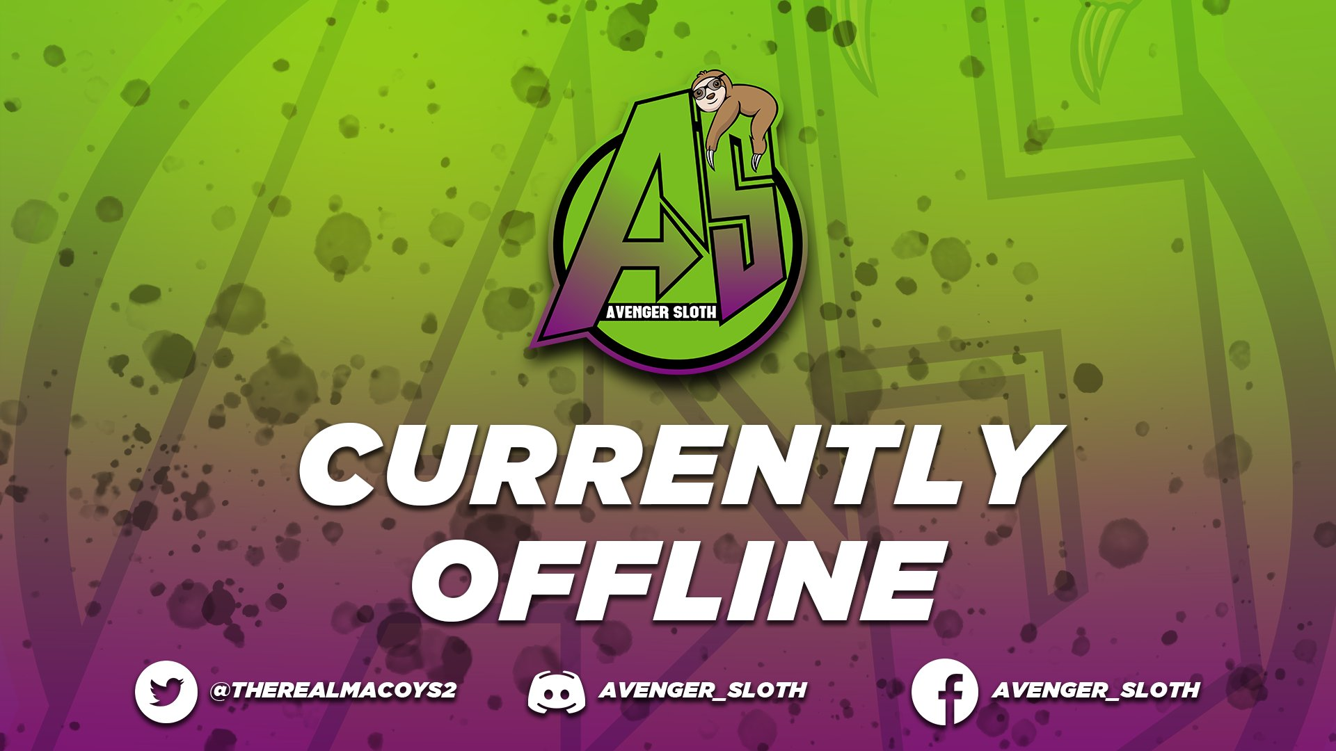 Twitch stream of avenger_sloth