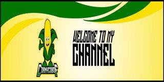 Profile banner for corny