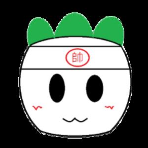 敲油菜頭 Logo