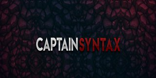 Profile banner for captainsyntax