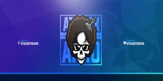 Profile banner for afro
