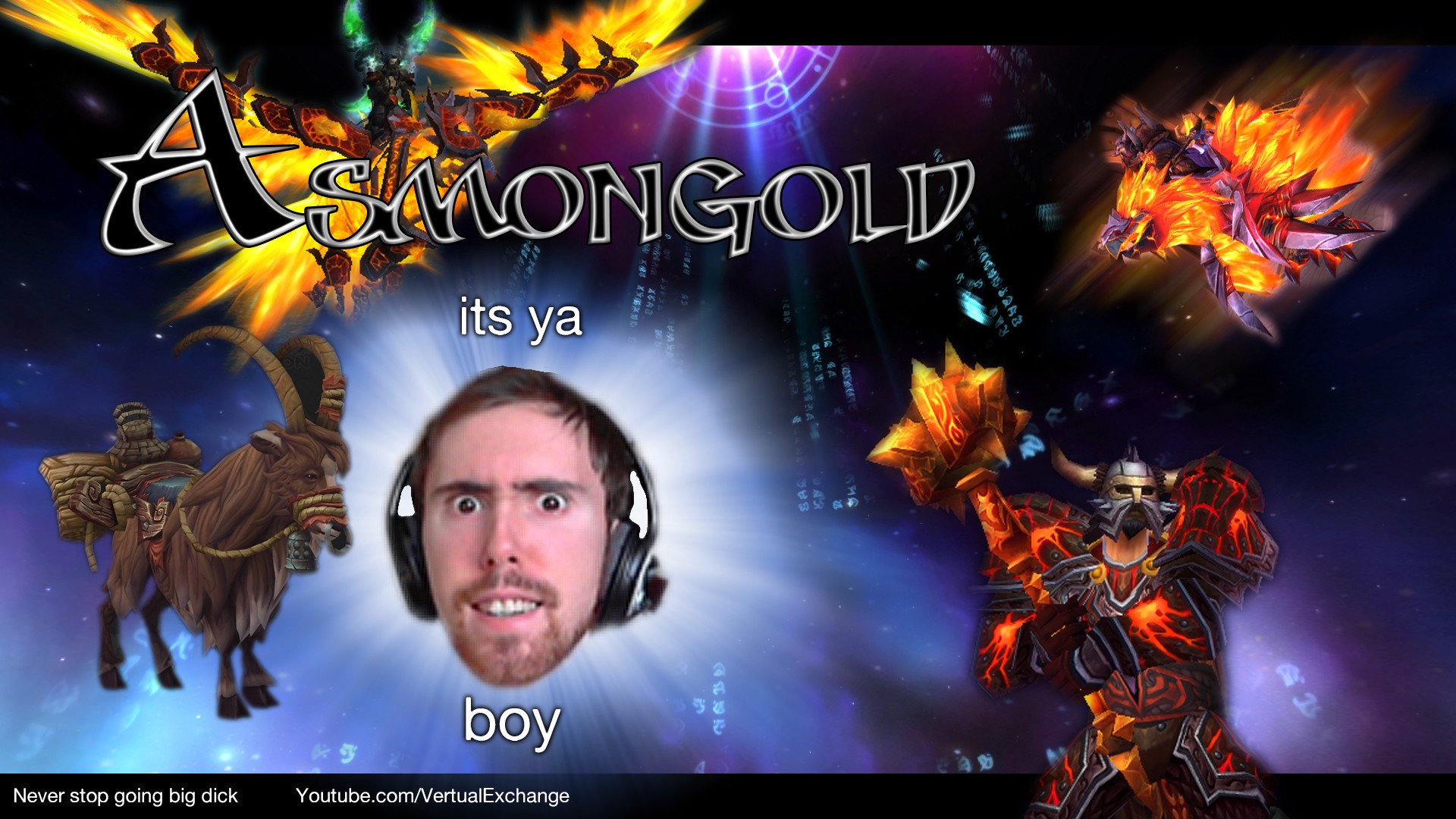 Twitch stream of Asmongold