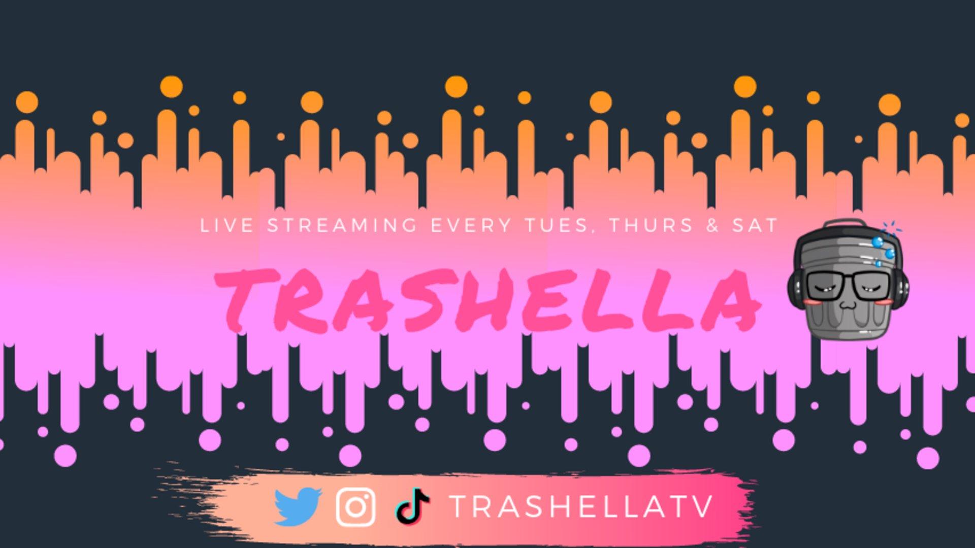 Twitch stream of Trashella