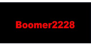 Profile banner for boomer2228