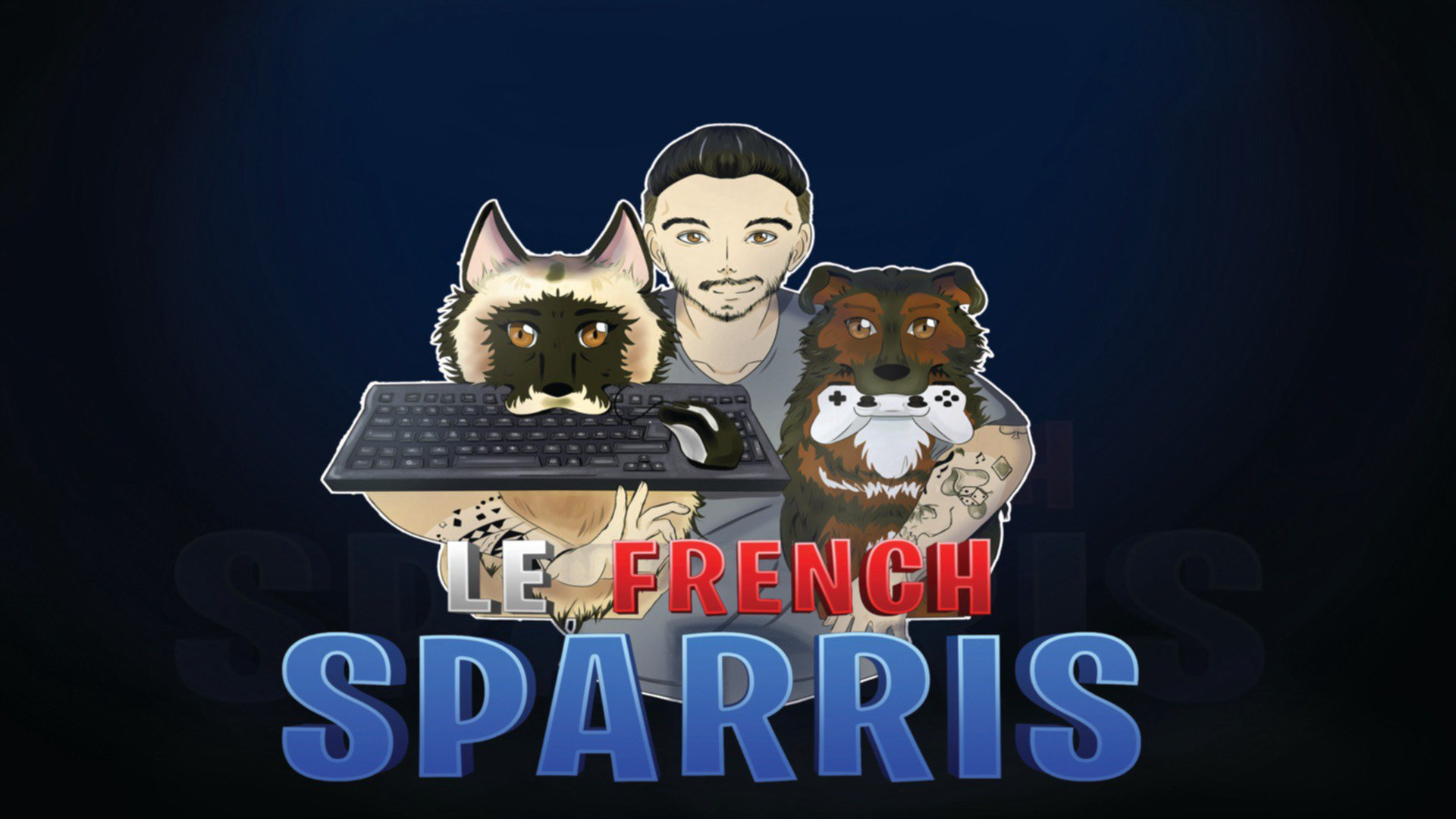 Twitch stream of LeFrenchSparris
