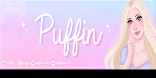 Profile banner for puffin