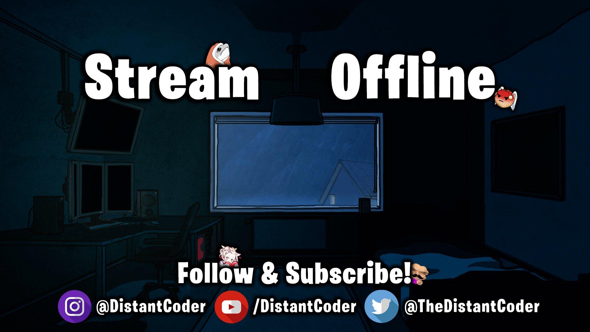 Twitch stream of DistantCoder