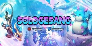 Profile banner for sologesang