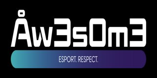 Profile banner for aw3s0m3esports