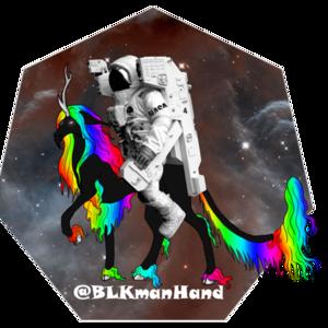 BlackManHand Logo