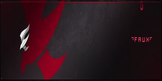 Profile banner for faux