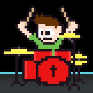 The 8 Bit Drummer  logo