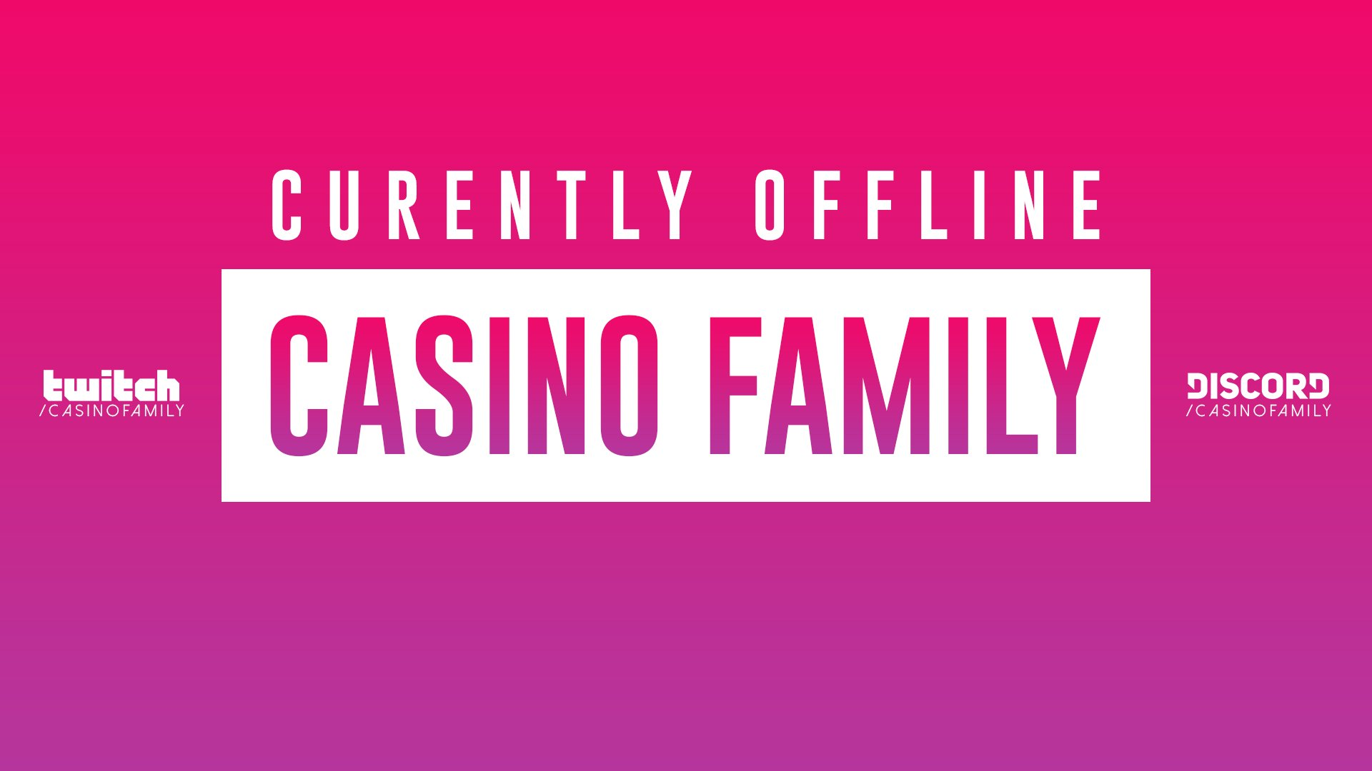 Twitch stream of CasinoFamily
