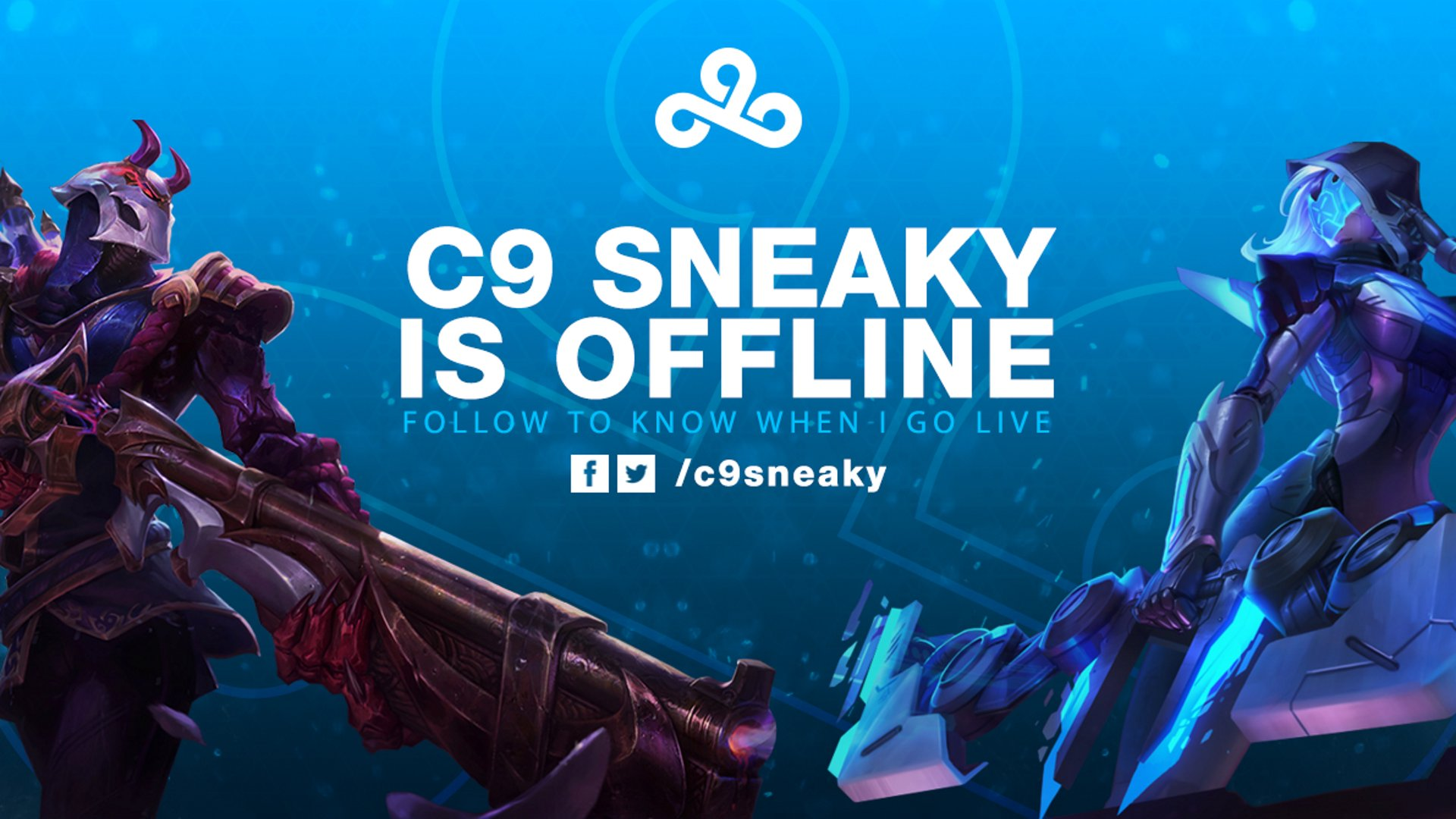 Twitch stream of C9Sneaky