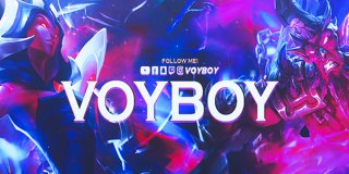 Profile banner for voyboy