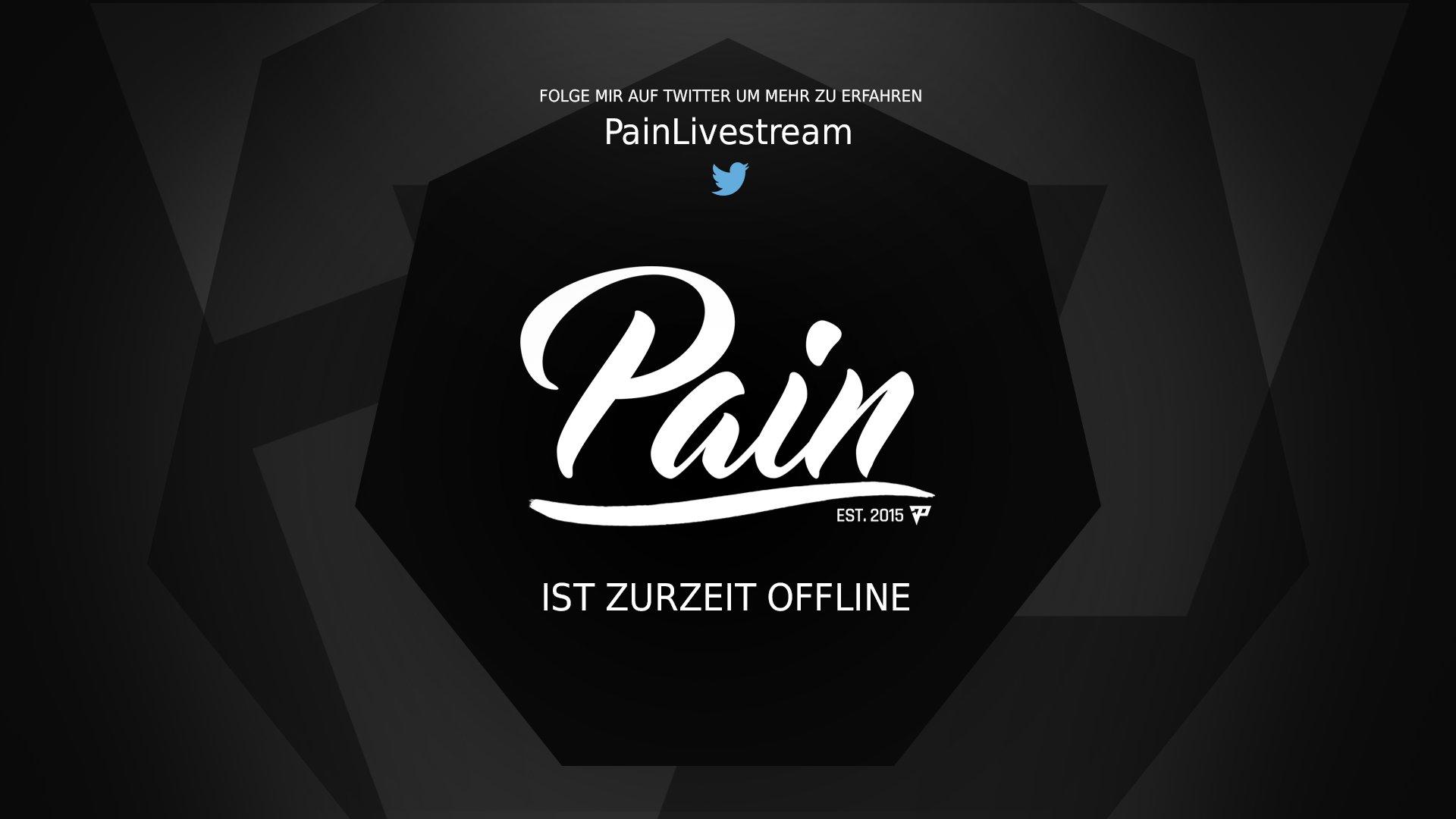 Twitch stream of PainLivestream