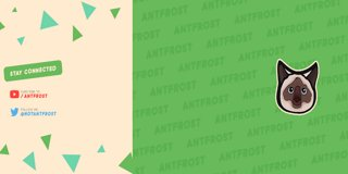 Profile banner for antfrost