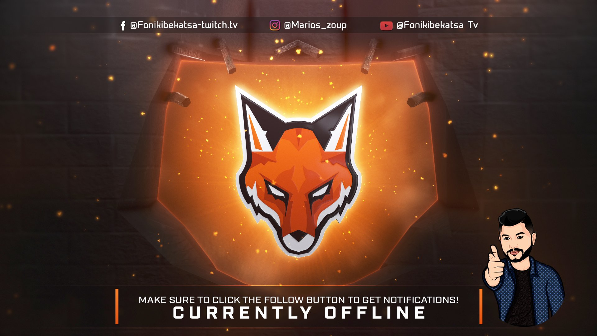 Twitch stream of Fonikibekatsa