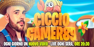 Profile banner for cicciogamer89