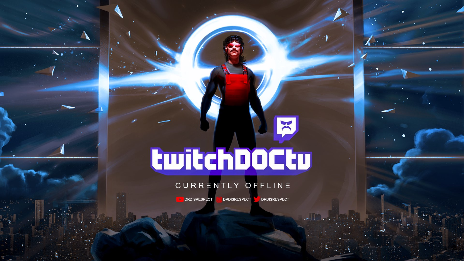 Twitch stream of DrDisrespect
