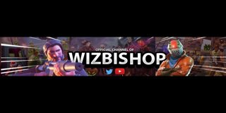 Profile banner for wizbishop