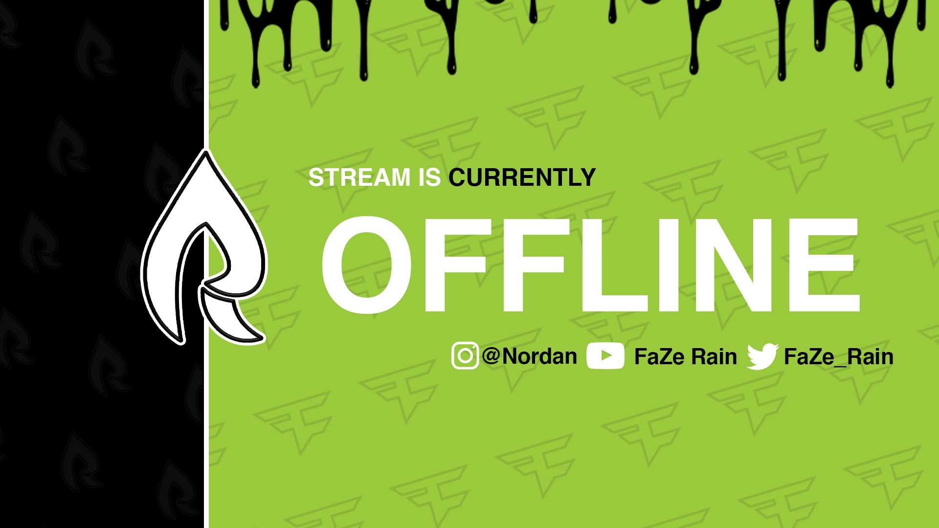 Twitch stream of Rain