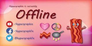 Profile banner for hypergraphia