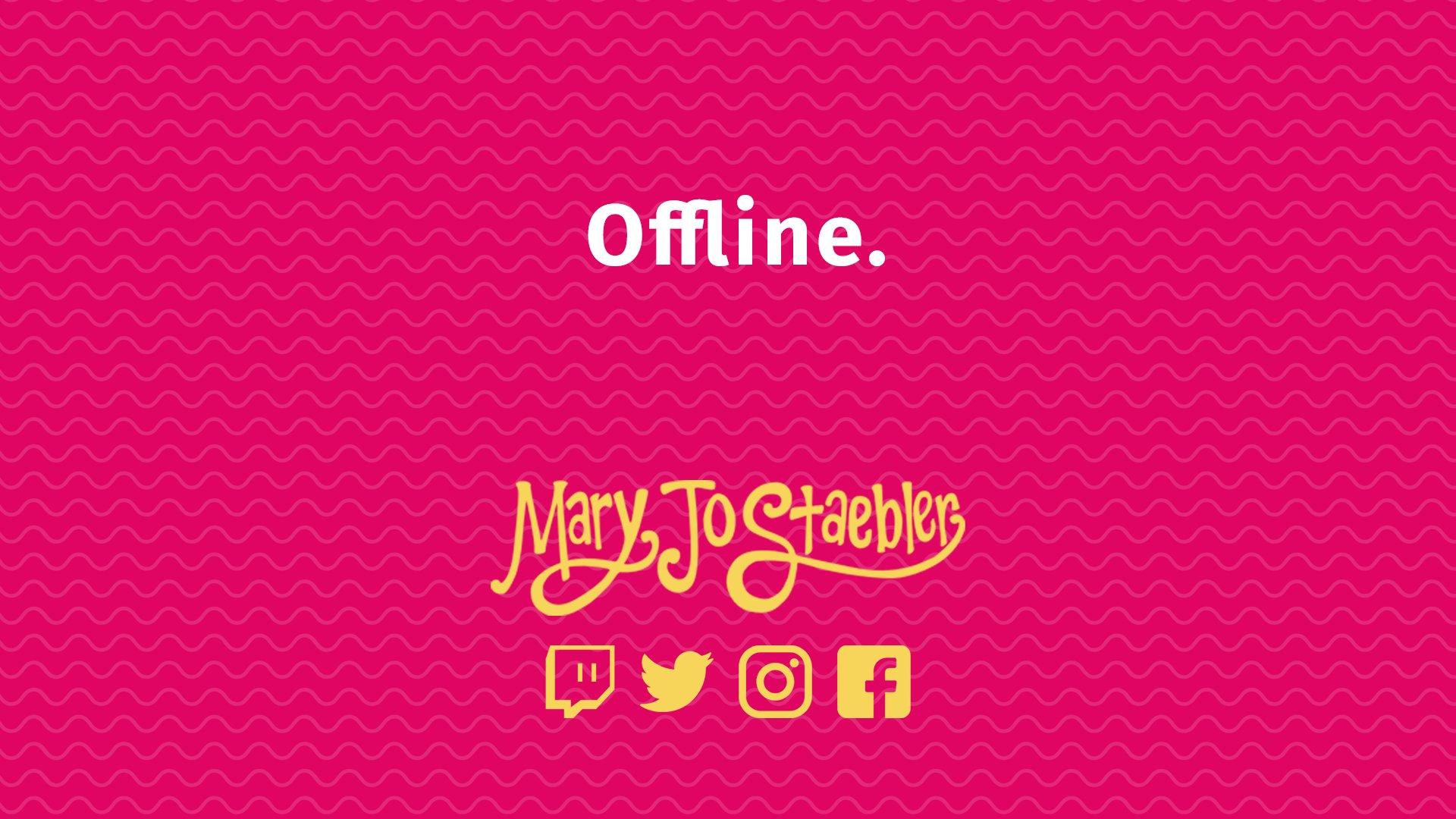 MaryJoStaebler on Twitch