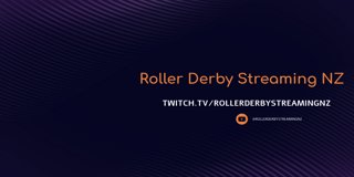 Profile banner for rollerderbystreamingnz