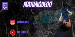 Profile banner for matimiqueoo