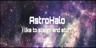 Profile banner for astrohalo