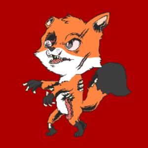 ZzombiefoxX Logo