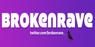 Profile banner for brokenrave